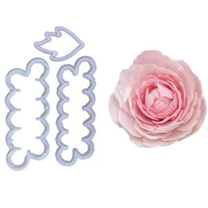 Easiest Peony & Leaf Cutter – 3 Pc Set