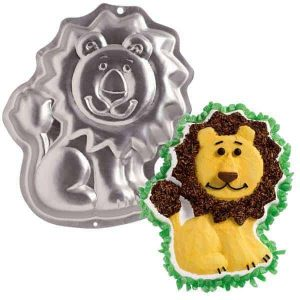 Friendly Lion Cake Tin
