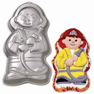 Fireman/Little Hero Cake Tin