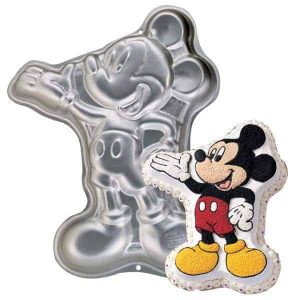 Mickey with hand out Cake tin