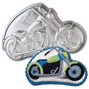 Motor Bike Cake Tin