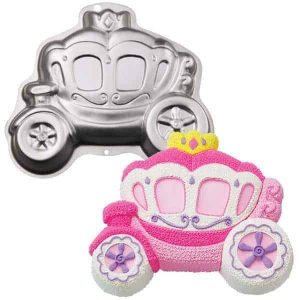 Princess Carrage Cake Tin