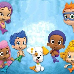 Bubble Guppies Edible Cake Image A4