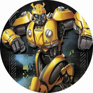 Transformer Round Edible Image