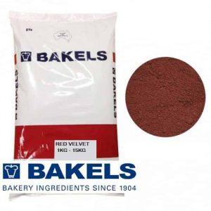 Bakels Red Velvet Cake Mix 1KG – 15KG