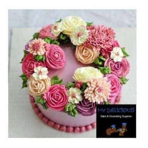 Butter Icing Piped Flower Class Sun 28th July 2019 9am – 5:30pm (Bunbury Only)