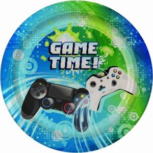 Game Time Edible Round Cake Image
