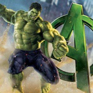 Hulk Edible Cake Image A4