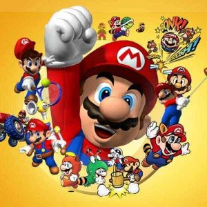 Mario Edible Cake Image A4
