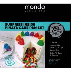 MONDO ALLOY SHAPED CAKE PAN PIÑATA SET