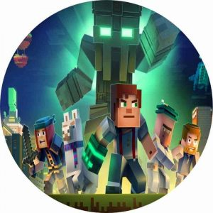 Minecraft Round Edible Image