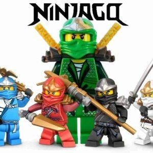 Ninjago Edible Cake Image A4