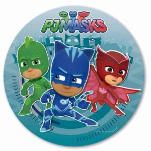PJ Mask Round Edible Image (NEW)