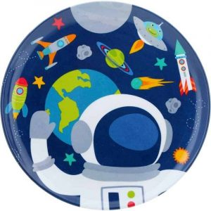 Space Edible Round Cake Image