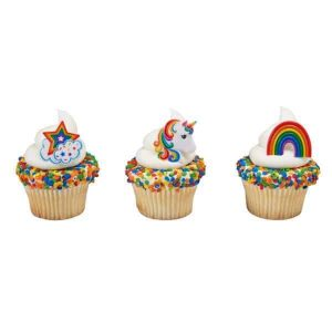 Rainbow Unicorn Rings