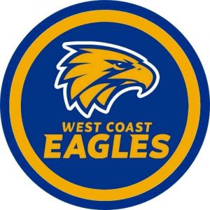 West Coast Eagles Edible Cake Image