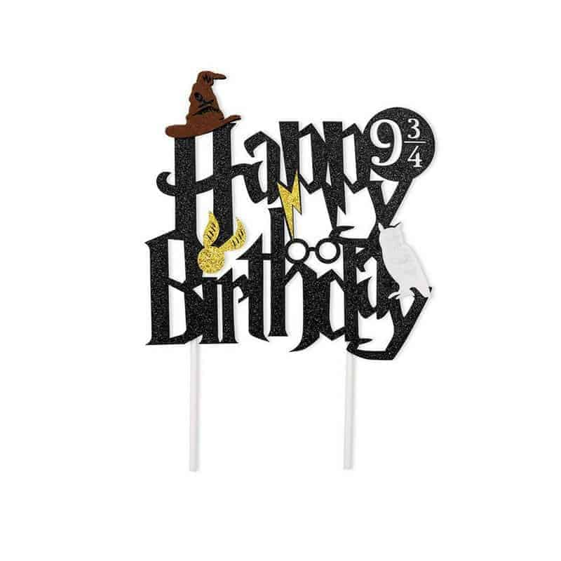 HARRY POTTER CAKE TOPPER – My Delicious Cake & Decorating ...