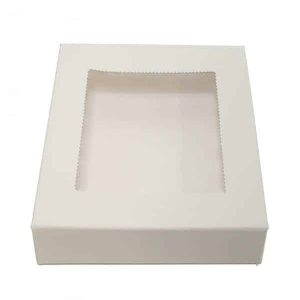 BISCUIT BOX SQUARE 6x6x1in