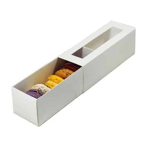 Macaron Box with window 2PC